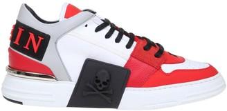 Philipp Plein Original Lo-top Sneakers In Leather