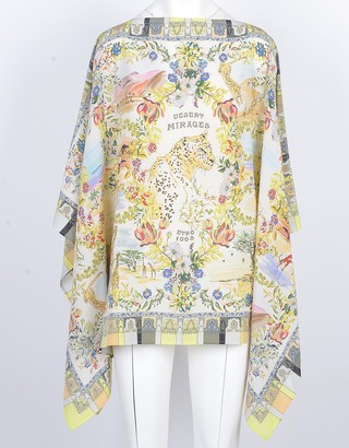 Etro Women's Green Poncho