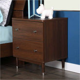 Asstd National Brand Olly Mid-Century Modern 2-Drawer Nightstand
