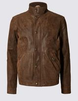Marks and Spencer Geniune Leather Casual Biker Jacket