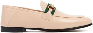 Gucci Horsebit Web Loafers