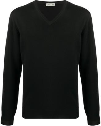 Etro V-neck fine knit sweater