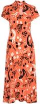 Thumbnail for your product : Rixo Pepper short-sleeve midi dress