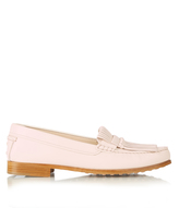 Tod's Fringe-front leather loafers