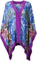Etro printed beach gown - women - Viscose - S