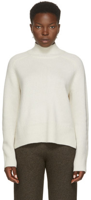 Arch4 White Cashmere Edith Grove Turtleneck