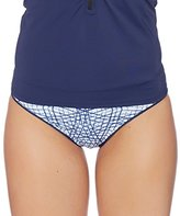Nautica Women's Broadway Mix Reversible Retro Bikini Bottom