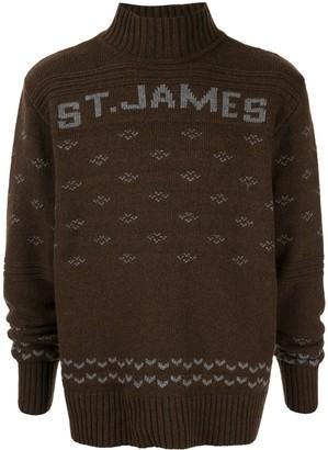Wales Bonner Alpine Mock-Neck Sweater