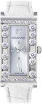 Swarovski Lovely Crystals Square White Watch