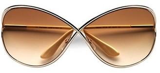 Tom Ford Miranda 68MM Oversized Round Sunglasses