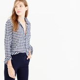 J.Crew Tall boy shirt in crinkle gingham