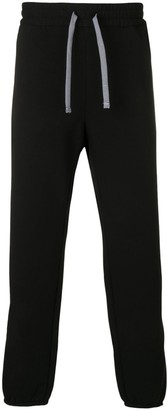 Emporio Armani High Waisted Track Trousers