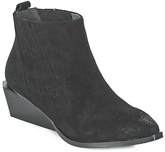 United Nude WEST women's Low Boots in Black