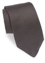 Theory Coupe Baradine Patterned Silk Tie