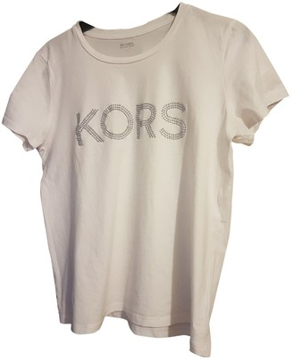 Michael Kors White Cotton Top for Women