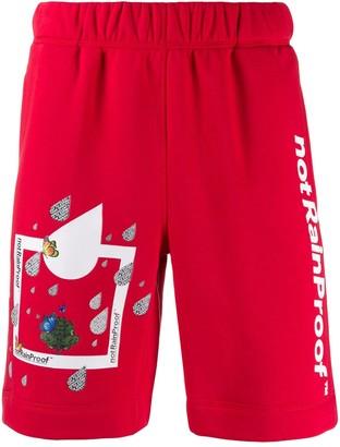 Styland Printed Jersey Shorts