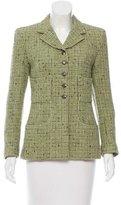 Chanel Wool & Silk-Blend Jacket