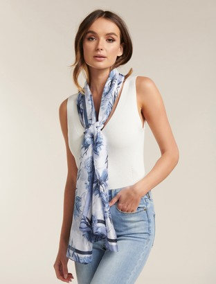 Ever New Justine Floral Print Scarf
