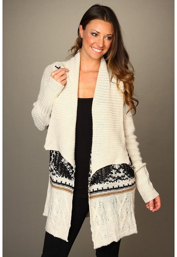 BB Dakota Arianna Sweater (Ivory) - Apparel