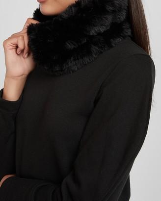 Express Cozy Faux Fur Snood