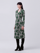 Diane von Furstenberg Cybil Midi Wrap Dress