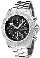 Breitling Men's Aeromarine Automatic Chronograph Volcano Black Dial Stainless Steel