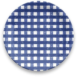 TarHong Gingham Outdoor Dinner Plate - Set Of 4