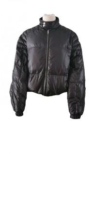 Louis Vuitton Black Polyester Coats