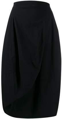Rundholz Black Label pleated midi skirt