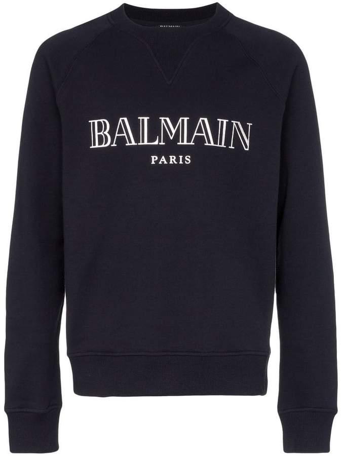 0d529ed4 Balmain Men's Sweatshirts - ShopStyle