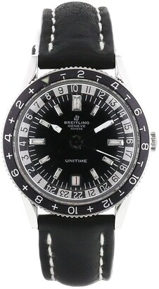 Breitling 1960 pre-owned Unitime 37mm