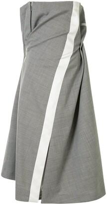 Sacai Draped Hybrid Dress
