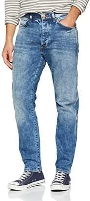 Wrangler Men's Slider Regular Tapered Straight Jeans, (Rough Blue 20v)