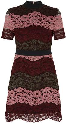 Ted Baker Jaseyy Lace Panelled Tea Dress