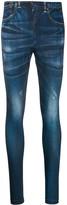 Junya Watanabe skinny denim effect trousers