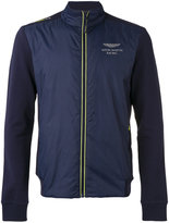 Hackett Aston Martin logo jacket - men - Cotton/Nylon/Polyester/Spandex/Elastane - S
