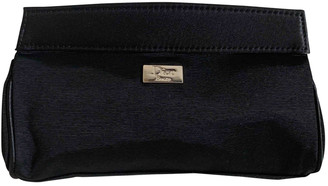 Christian Dior Black Cloth Travel bags