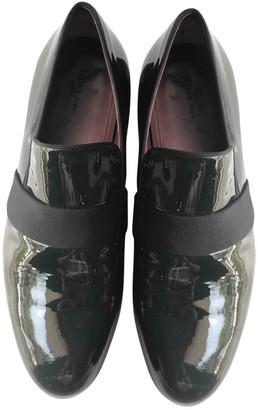 Celine Navy Patent leather Flats