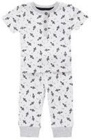 F&F Rocket Print Twosie Pyjamas, Newborn Boy's