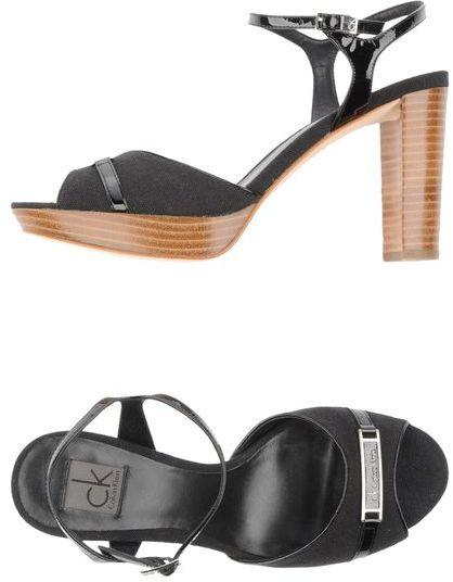 CK Calvin Klein Platform sandals