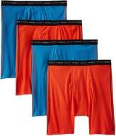 Hanes Men's 4 Pack Cool DRI No Ride Up Boxer Briefs