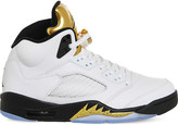 Nike Jordan 5 Retro leather trainers