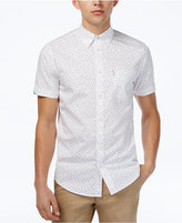 Ben Sherman Men's Slim-Fit Triangle Print Shirt