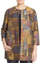 Marina Rinaldi Nave Tapestry Jacquard Jacket