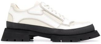 Jil Sander Chunky Lace-Up Shoes