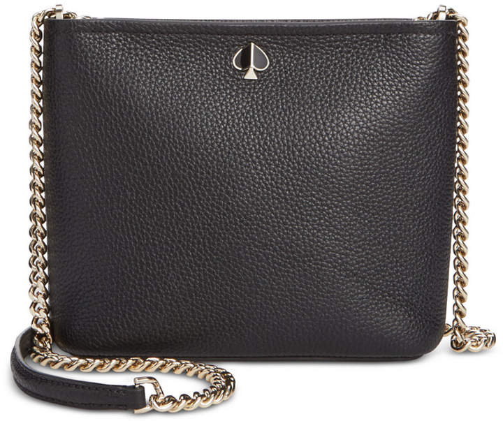 56308a193aa Polly Pebble Leather Chain Crossbody
