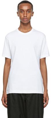 Comme des Garçons Shirt White Cotton T-Shirt