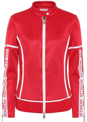 Moncler Logo zip jacket