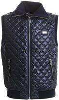 Dolce & Gabbana Blue Quilted Gilet