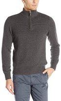 Dockers Quarter Zip Mock-Neck Sweater